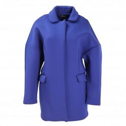 Abrigo caucho azul FANNY COUTURE