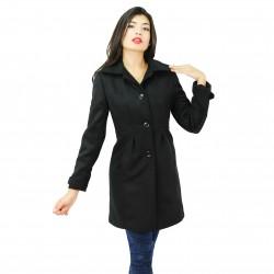 Abrigo midi ajustado en cintura FANNY COUTURE