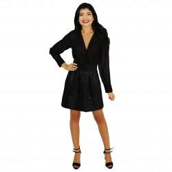 Vestido negro FANNY COUTURE