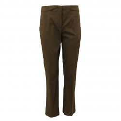 Pantalón recto marrón PRADA