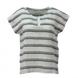 Camiseta rayas lurex MUS&BOMBON Jazmin