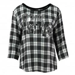 Camiseta estampado cuadros FANNY COUTURE
