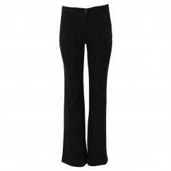 Pantalón recto negro FANNY COUTURE