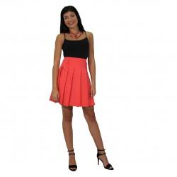 Falda corta roja ROCCOBAROCCO