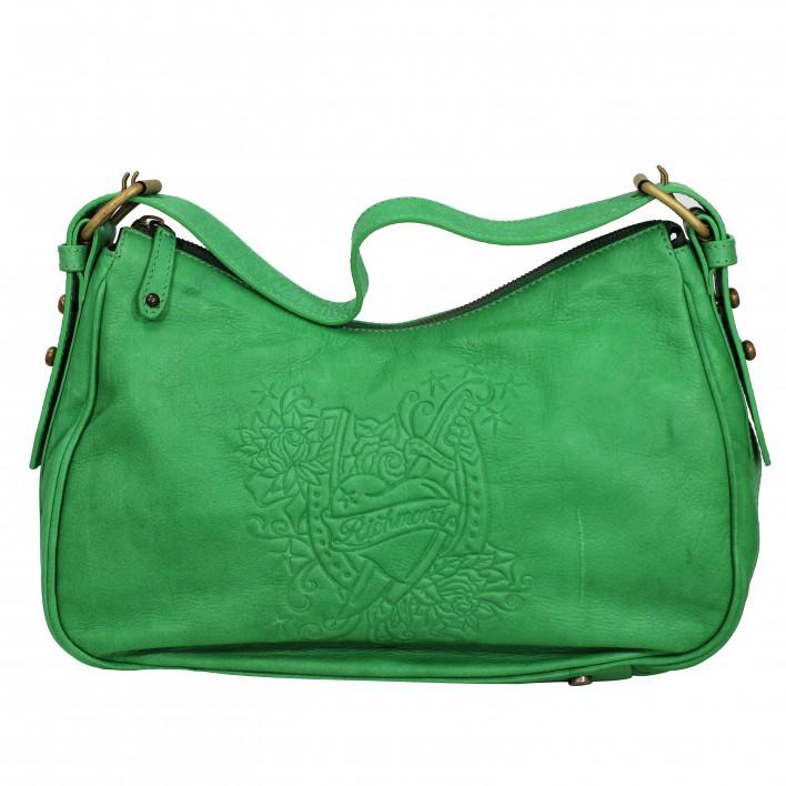 Bolso de hombro verde JOHN RICHMOND