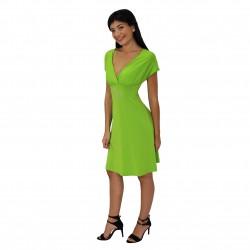 Vestido corto verde ROCCOBAROCCO
