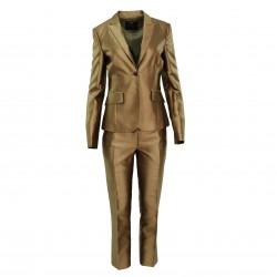 Traje chaqueta pantalón seda dorado (2 pzas) JOHN RICHMOND