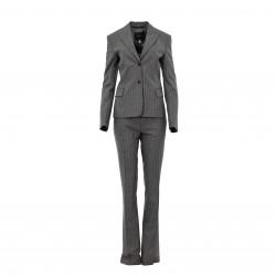 Traje chaqueta pantalón raya diplomática gris (2 pzas) JOHN RICHMOND