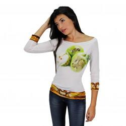Camiseta estampada cenefa ROCCOBAROCCO