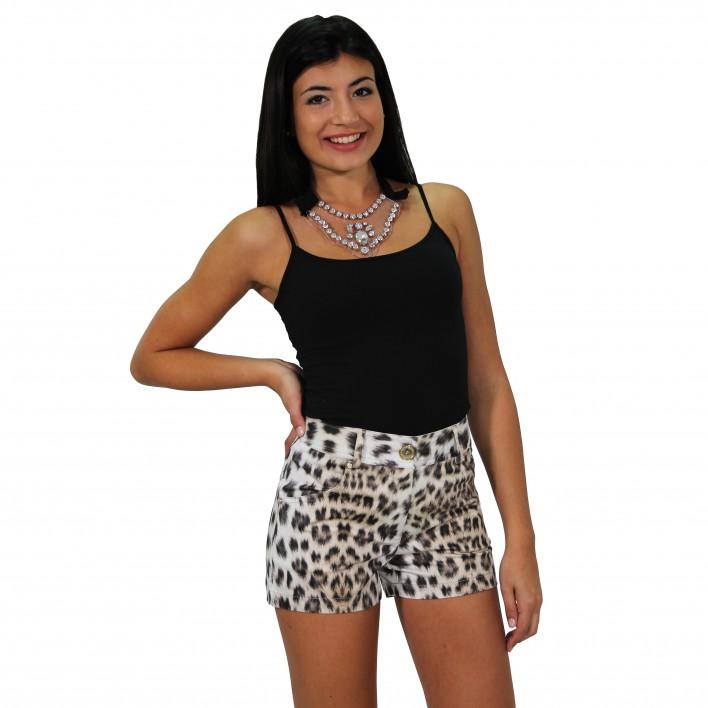 Short estampado leopardo ROCCOBAROCCO