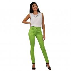 Pantalón pitillo verde ROCCOBAROCCO