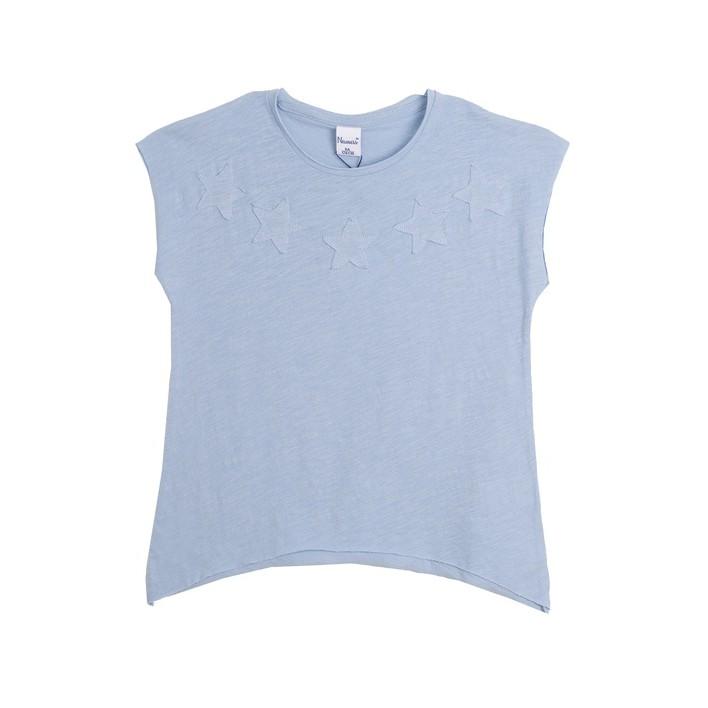Camiseta estrellas manga corta