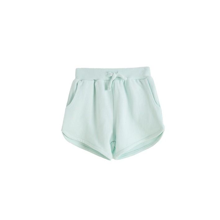 Short verde 100% algodon