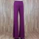 Pantalón ancho punto liso buganvilla