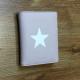 Monedero pequeño rosa estrella