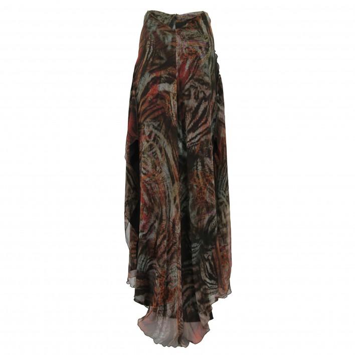 Falda larga estampado BDBA