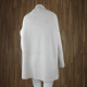 Jersey largo textura con cuello cisne ARENA