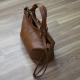 Bolso saco de mano con bandolera 100% piel cuero