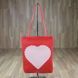Bolso corazón rojo