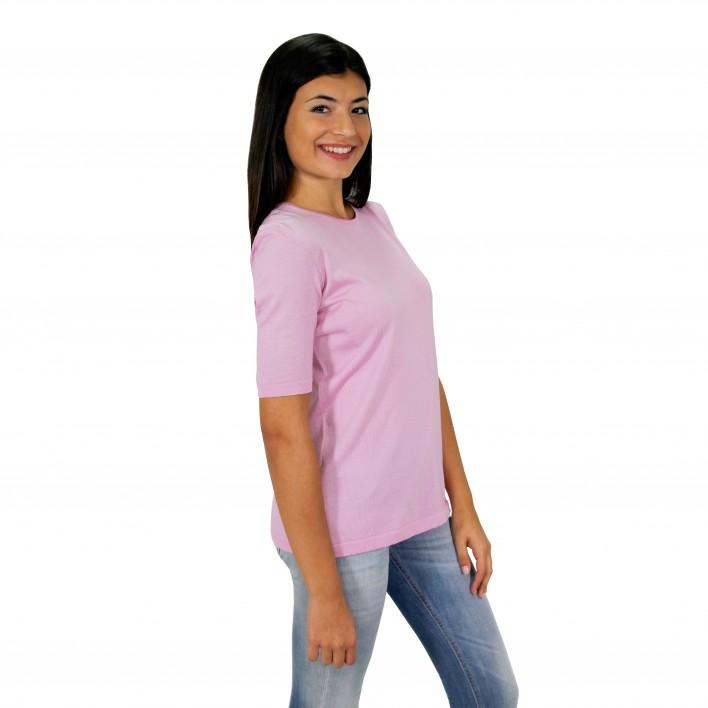 Jersey m/corta rosa BLUMARINE
