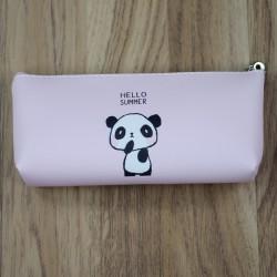 Estuche neceser oso panda rosa