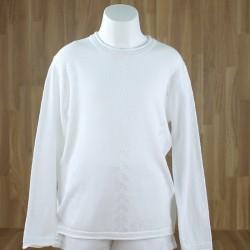 Jersey calados blanco